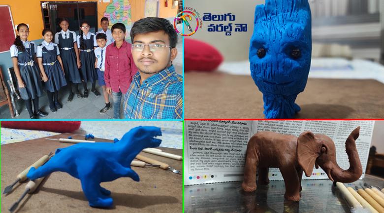 varadareddy gautham reddy,arts&crafts,painter,painter,clay modeling,micro art,motivation speech,public speeker,v9 news telugu,my mix enterainments,teluguworldnow.com